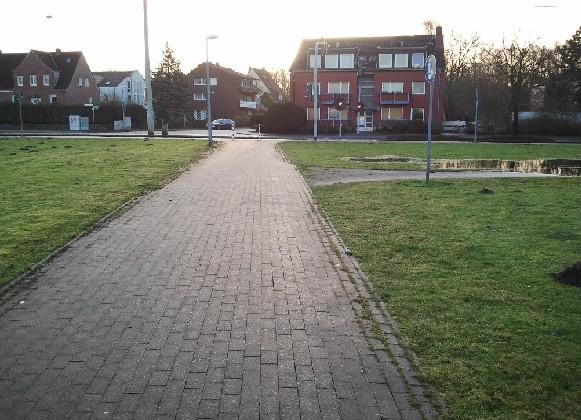 Radweg in der Loddenheide